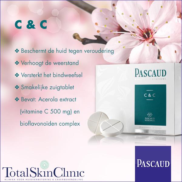 Pascaud C&C: smakelijke zuigtabletten met extra vitamine C